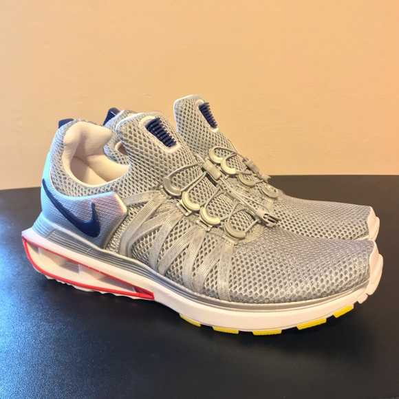 Nike Shoes   New Shox Gravity Silver